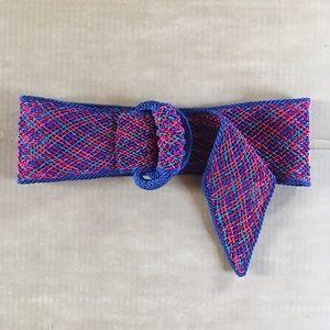 Colorful Woven Vintage Belt Retro Style Size M L